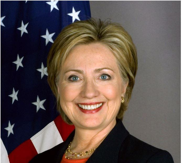 Former US First Lady Hillary Clinton visiting Ireland reportedly near Laois