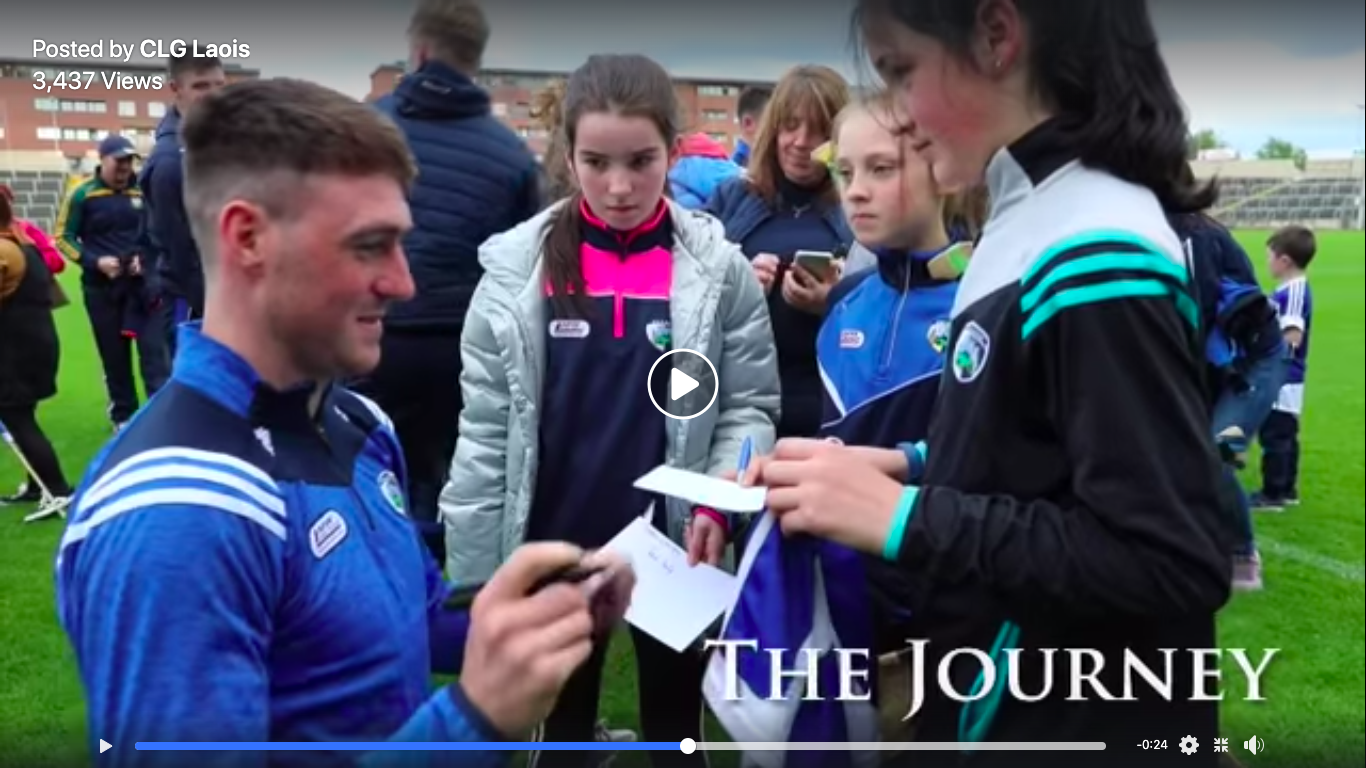 Laois GAA release stirring video ahead of today's All-Ireland quarter-final against Tipp