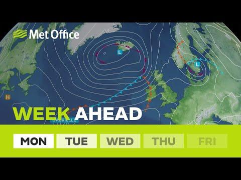 WATCH: Weekend weather forecast after remnants of Dorian and Gabrielle features 'warm sunshine'