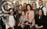 Great excitement at the Hair Gallery Portarlington as top blogger comes to visit