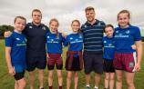 GALLERY - Portarlington RFC welcome Jordi Murphy and Sean Cronin to their summer camp