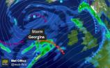 weather wind rain warning met eireann
