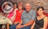 Birthday celebrations at DeBrun's Bar in Hume's Bar Portlaoise