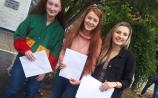 PICTURES: Nerves and excitement for Leaving Cert results in Portarlington