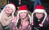 Fire artists and festive fun at Abbeyleix Christmas Market