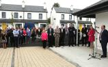 Official opening of Conniberry Way council estate in Portlaoise in 2018, a third of the houses have two bedrooms.