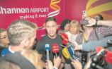 WATCH: Chaos at Shannon Airport as Love Island winner Greg arrives home