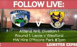 FOLLOW LIVE: All the action from Laois v Wexford NHL Division 1 clash