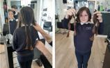 Laois schoolgirl braves the big chop for children's charity