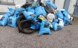 PHOTOS:  Dumped rubbish cleared by rural Laois residents