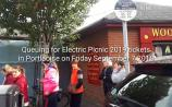 WATCH: The queue is HUGE for Electric Picnic 2019 tickets in Portlaoise
