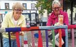 Mountmellick gives back to its colourful yarnbombers