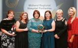 Portlaoise hospital's catering department take home two major awards
