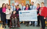Laois credit union staff give slice of wages to charities