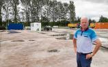 Portarlington's factory site clean up finally underway