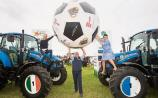 Ireland's first 'Know Heart Failure Now' Tractor Football at the Ploughing