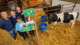 Laois schoolgirl rearing calf to help build the first Midlands hospice