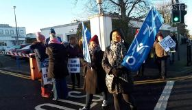WATCH: Nurses on the picket line in Laois at Portlaoise hospital