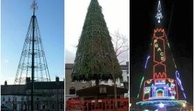 Mountmellick Christmas Tree in Laois
