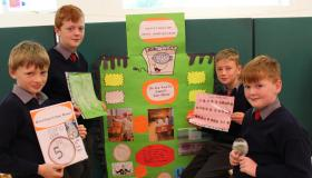 Timahoe National School in Laois has produced this year's crop of Intel Mini Scientists