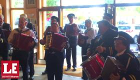 WATCH: Laois accordion band celebrate new book launch