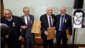Laois Offaly Garda heros honoured in Templemore #pictures