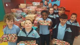 Holy Family Senior Schools sends gifts of Hope to poor children