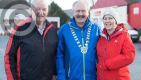 New Year's Day walkers step out for Timahoe annual fundraiser