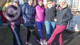 New Year's Day charity walk in Ballacolla, Co Laois a big success