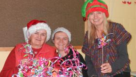 Scoil Mhuire NS in Abbeyleix held a wonderful Christmas fair with a sprinkle of magic