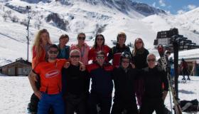 Photos from St Mary's CBS Portlaoise school tour to the Italian Alps