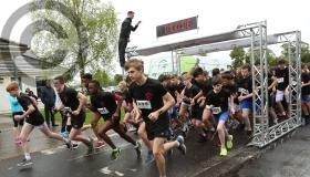 Coláiste Íosagáin students and teachers run free in Portarlington - in pictures