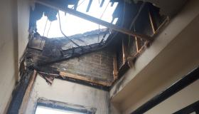 Pictures & Video: See damage done inside building after fire in Portlaoise yesterday