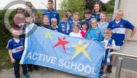 Active Laois school turns blue and white ahead Leinster GAA final date with Dublin