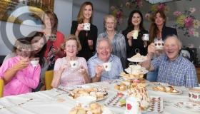 PICTURES: Laois business successful afternoon tea fundraiser for injured Daniel Wolski