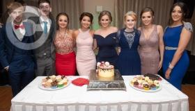 Stylish graduates at the recent Clonaslee College Debs