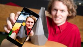 WATCH: Laois student creates augmented realty trophy for energy award in Berlin