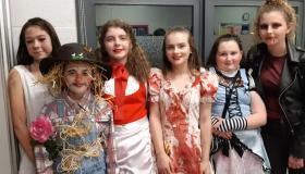 Happy Halloween 'Fright nite' at Mountrath Community School - #pictures