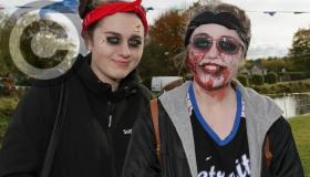 Halloween theme for Zombie Beat the Barge Run in Laois