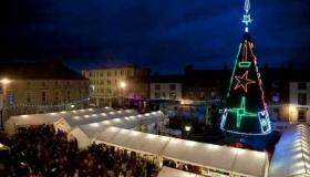 WATCH: Mountmellick Christmas Fair from above