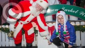 Santa jets in for Christmas light switch on and festive fun in Portlaoise - pictures