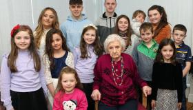 GALLERY: 100th birthday celebrations for beloved Portlaoise great granny
