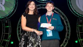 WATCH: Laois student wins award at BT Young Scientist exhibition