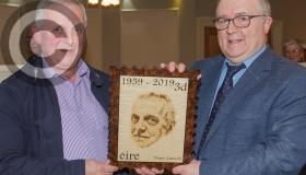 Surprise presentation to Abbeyleix Post Master in pictures