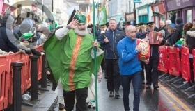 St Patrick's Day Parade pictures from  Portlaoise