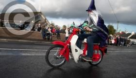 St Patrick's Day Parade pictures from  the Slieve Blooms in Rosenallis