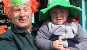 St Patrick's Parade Day pictures from Rathdowney