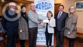 Mountmellick Credit Union stumps up for community groups - in pictures