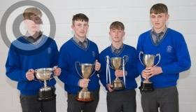 Award season underway at Laois secondary schools in pictures