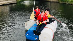 Great day of scouting on the river in Laois - in pictures